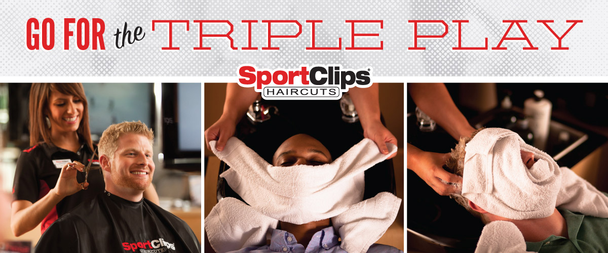 The Sport Clips Haircuts of Colorado Springs - North Academy Triple Play